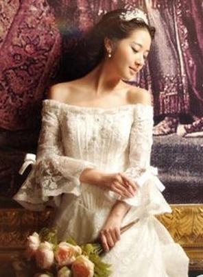 宫廷欧式奢华婚纱礼服