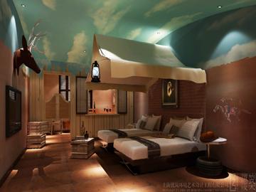 迪诺水镇主题创意酒店图片