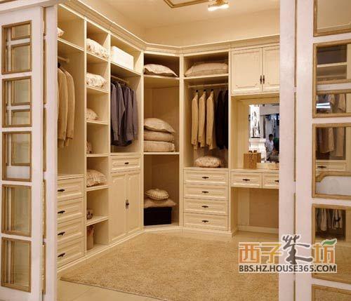 整体衣柜设计效果图        环保健康最重要