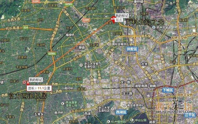 杭州海澜半岛地图