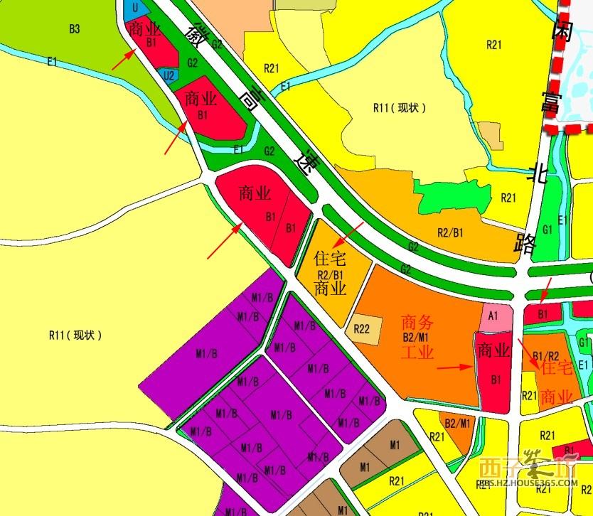 【建设规划】杭州未来科技城02省道两侧控制性详细