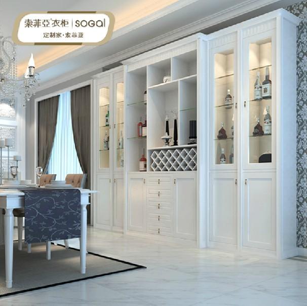 欧式酒柜 客厅装饰柜