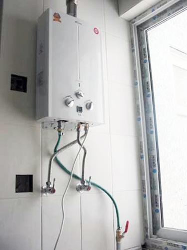 今喜然气热水器内部构造图解
