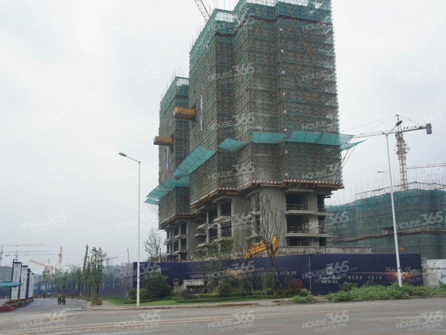 保利罗兰香谷4室2厅2卫118平米豪华装产权房2013年建