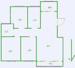 武夷绿洲户型图