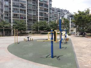 都市水乡水曲苑实景图