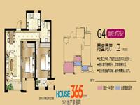 G4两室两厅一卫73平