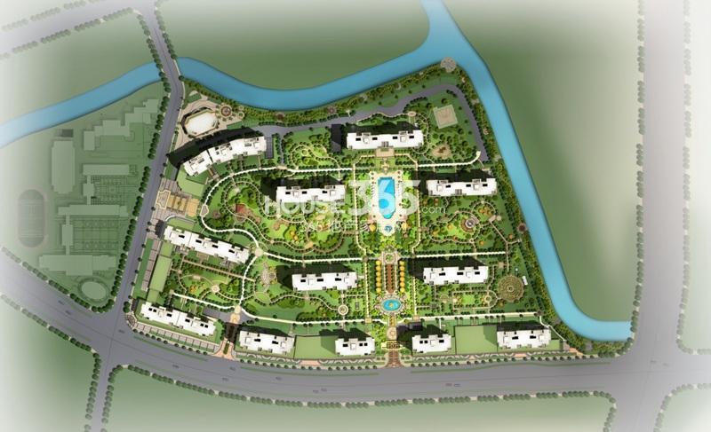 嘉凯城名城博园平面图