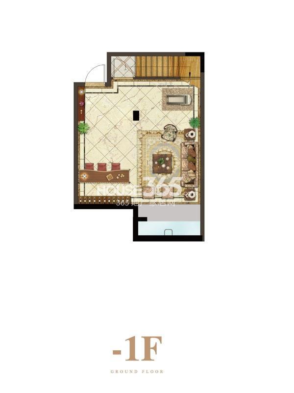 保利礼墅户型图