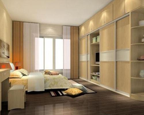 2012最新款卧室整体衣柜效果图大全欣赏