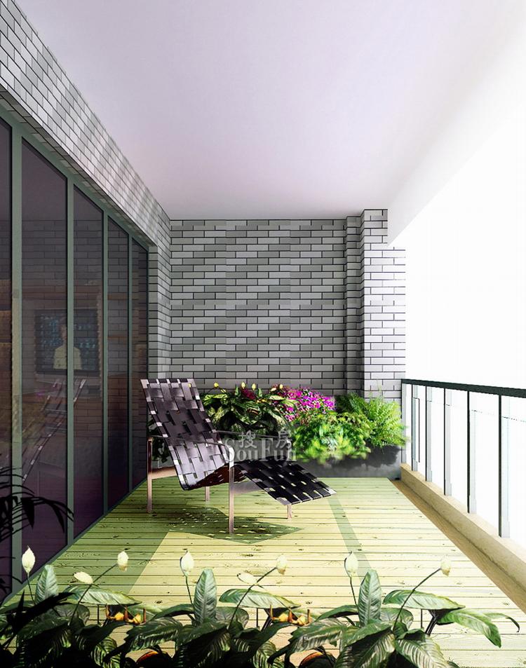 阳台,一般家庭总是用于晾晒衣物、堆放杂物,但由于装修时一般未做合理规划,入住后往往是堆得乱七八糟,既不方便取用,又无法整理,最后这个空间只能荒废。 如果阳台是封闭式而且也做了保温层的,其实打开其与室内空间的隔断式连接将能更充分的利用。比如:有的卧室和外面阳台间会有一扇推拉门,如果把这扇推拉门取掉,再扩大门框,这样阳台就能变成卧室的一部分,铺贴上和卧室一样的地板,而阳台一般光线较好,这样可以考虑把梳妆台或者书桌放置到阳台上.