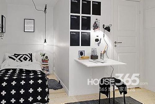 小户型室内装修 12款多功能卧室化解空间尴尬-365