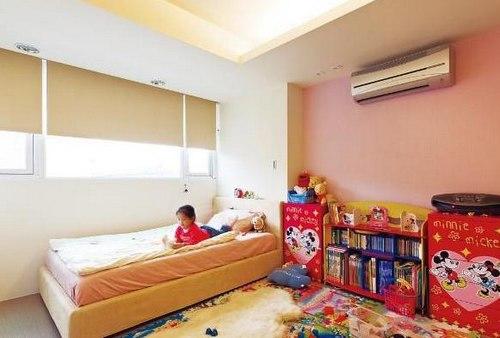 儿童房间装修效果图 :温馨可爱格调儿童房内景