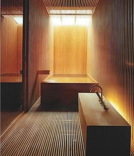 """卫生间装修效果图 特色""""木""""质设计清新自然-365地产"""