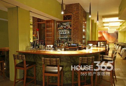 酒吧吧台装修效果图 国外时尚案例设计大集合