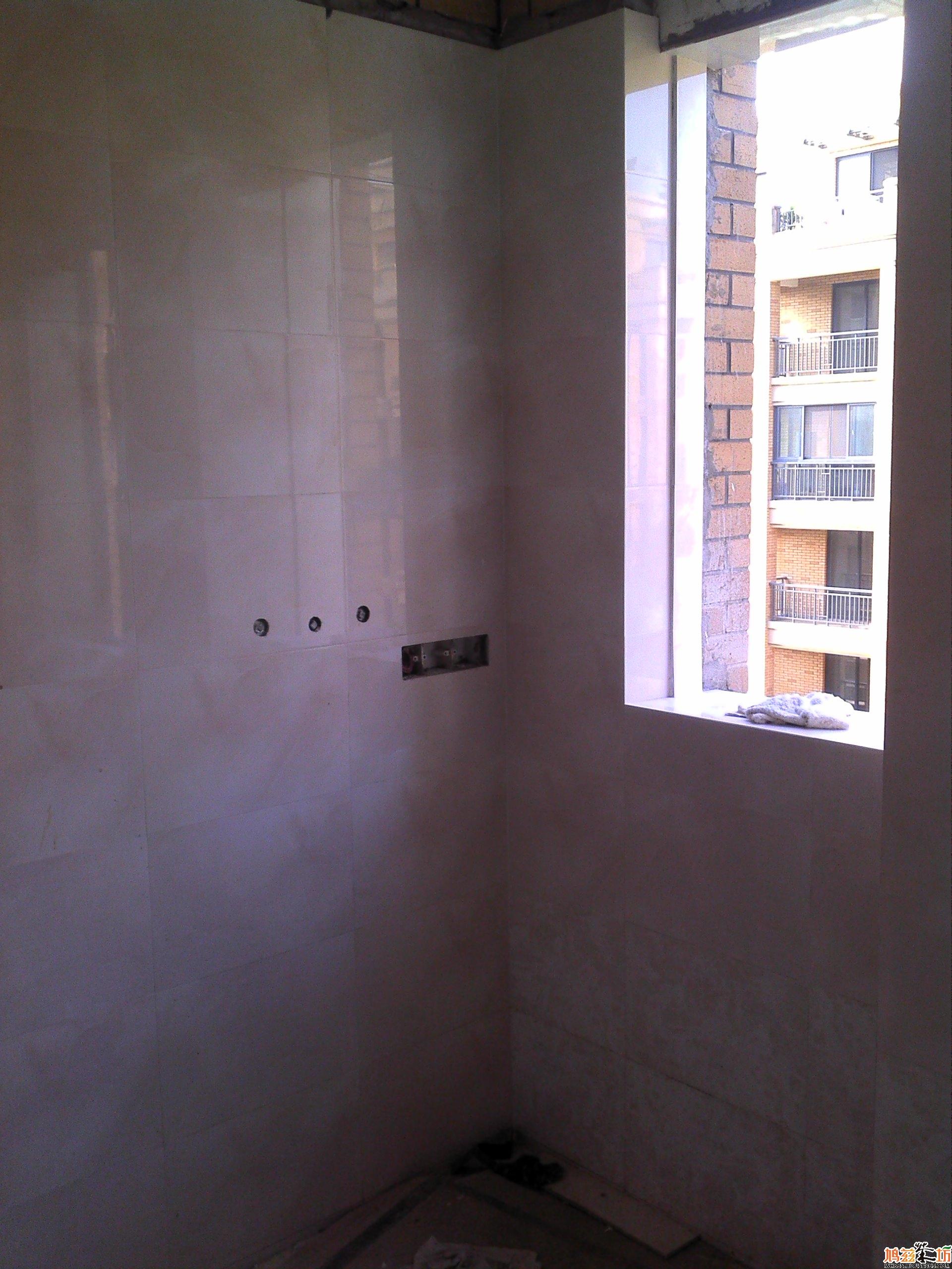 玻璃/厨房2//窗户太窄,只能拿玻璃全封