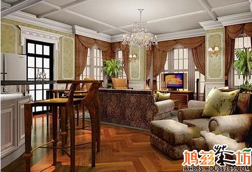 房子装修风格 之欧式古典型