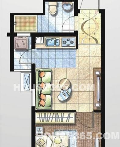 绿地单身公寓 低价急售 豪华装