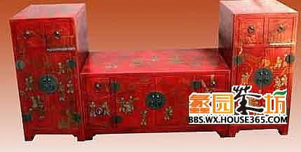 > 中式家具手绘效果图 打造浪漫家居