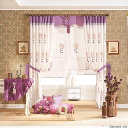 窗帘店装修效果图 开窗帘店就要这么装修(图)