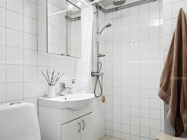 卫生间瓷砖尺寸背景墙 墙面化妆术