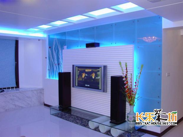 客厅墙面装饰之背景墙的设计(多图),可以做设计参考哦,鱼缸放在背景墙