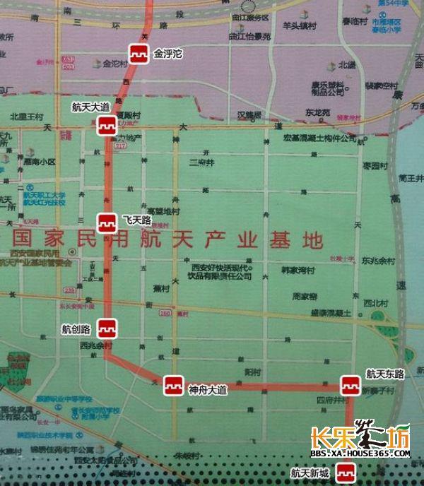 紫薇大道街道地图