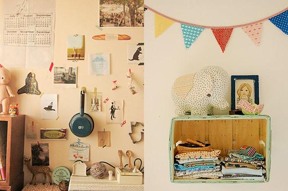 森系女生房间装修风格图片