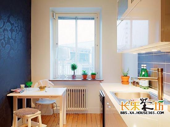85平房子装修   85平米房屋装修效果图:在厨房空间里